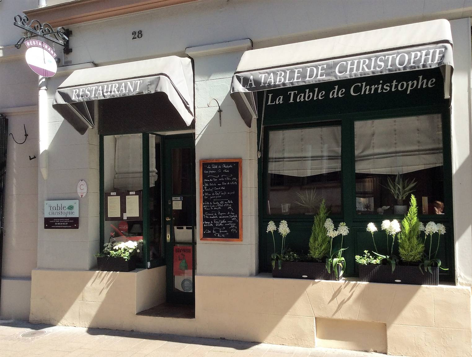 Restaurant La Table De Christophe A Strasbourg Alsace France